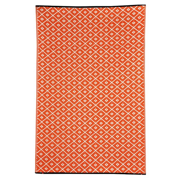 Kennedy Orange Outdoor Rug Reviews Wayfair Co Uk