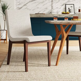 Morganti Beige Upholstered Dining Chair b..