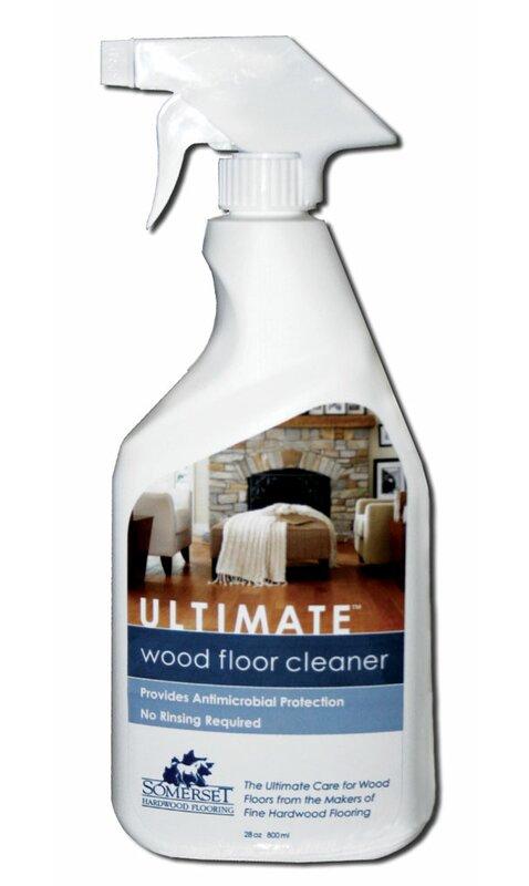 Somerset Ultimate Hardwood Floor Cleaner 28 Oz Reviews Wayfair