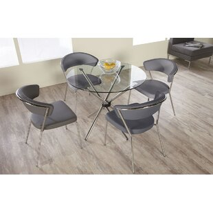 Barrette 5 Piece Dining Set by Wade Logan