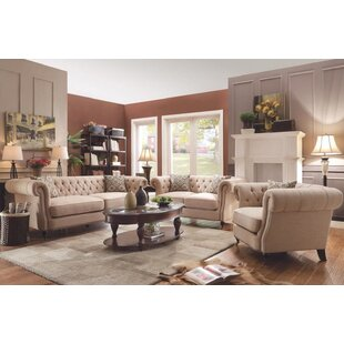 Price comparison Tallulah 3 Piece Living Room Set by One Allium Way Reviews (2019) & Buyer's Guide
