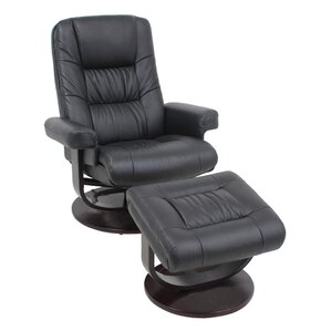 chairperson manual recline no motion recliner with ottoman