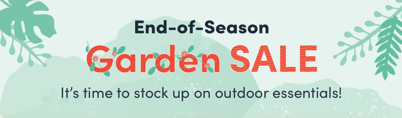 Outdoor End-of-Season