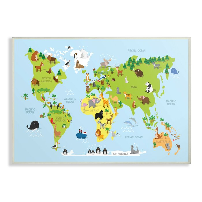 Feemster World Map Cartoon and Colorful Decorative Plaque on vintage world map, ceramic world map, bedding world map, interior world map, simple world map, ornate world map, seasonal world map, jewelry world map, security world map, solar world map, repositionable world map, fluorescent world map, videogame world map, rounded world map, plants world map, miniature world map, illustration world map, mythological world map, nature world map, distressed world map,