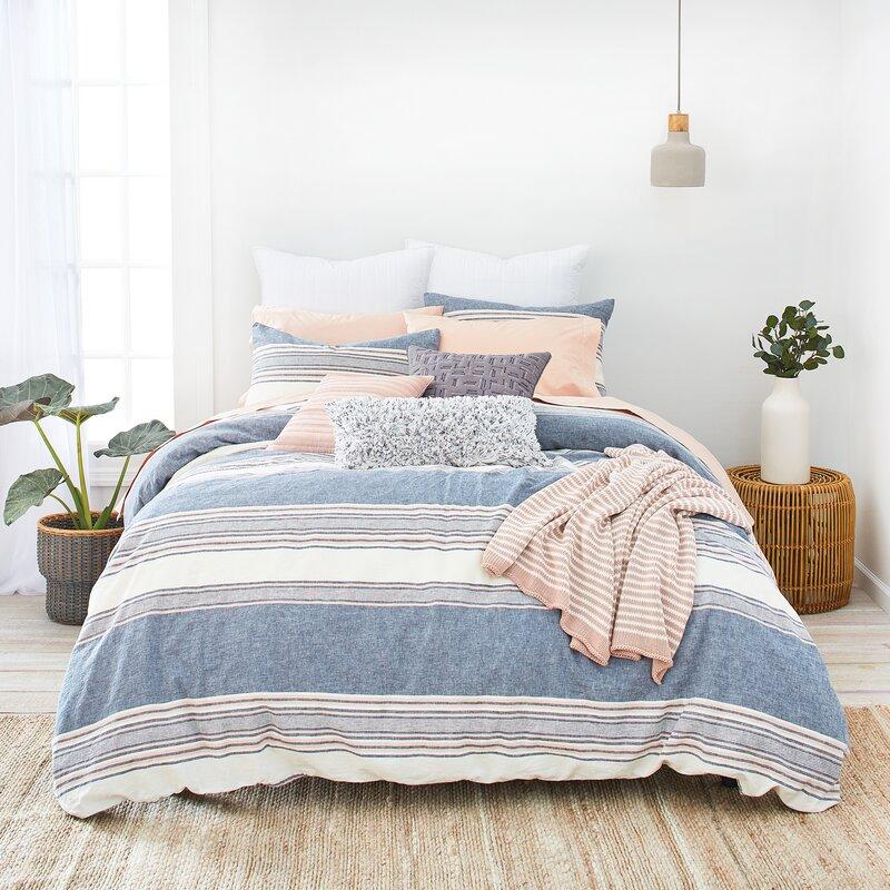505f0d647267 SPLENDID HOME Tuscan Stripe Comforter Set & Reviews | Wayfair