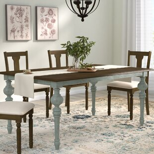 Serpentaire Extendable Dining Table by Lark Manor