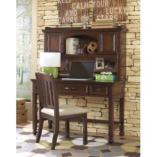 Viv + Rae Jamari Computer Desk with Hutch and Chair Set