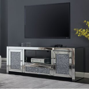 Buy luxury Marlow TV Stand for TVs up to 55 by Everly Quinn Reviews (2019) & Buyer's Guide