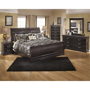 Alcott Hill Woodfield Sleigh Configurable Bedroom Set