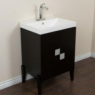 25 Single Sink Vanity Set by Bellaterra Home
