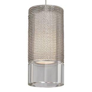 Tech Lighting Manchon 1-Light Cylinder Pendant