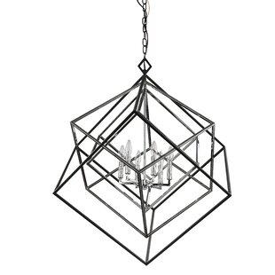 Pederson 6-Light Geometric Chandelier by Brayden Studio