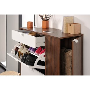 Prime 10-Pair Shoe Storage Cabinet by Parisot