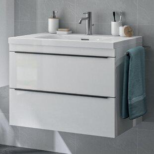 Holtman 800mm Wall Hung Single Vanity Unit By Belfry Bathroom