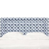 Doyon Border Upholstered Panel Headboard by Bungalow Rose