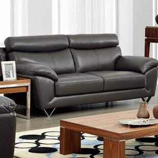 Deziree Leather Sofa