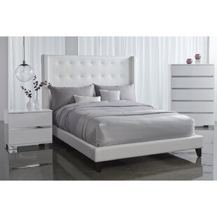 Mercer41 Rieke King Upholstered Platform Bed
