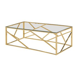 Jud Angled Coffee Table by Orren Ellis Design