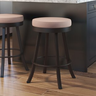 Kobbe 30 Swivel Bar Stool Alcott Hill
