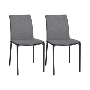 Duren Upholstered Dining Chair (Set Of 2) By Ebern Designs