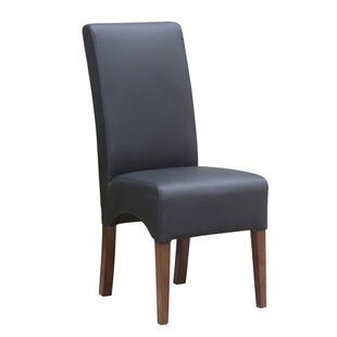 Dinata Genuine Leather Upholstered Dining Chair by Fine Mod Imports