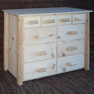 Frontier 10 Drawer Combo Dresser by Lakeland Mills Cool