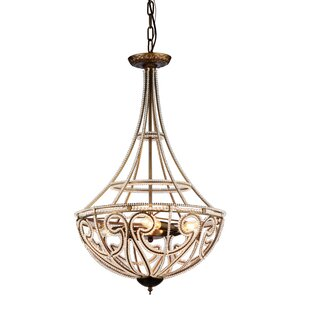 House of Hampton Bloomsdale 4-Light Bowl Pendant