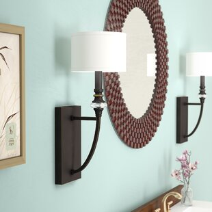 Best Reviews Hangah 1-Light Wall Sconce By World Menagerie