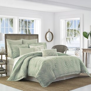 Abacos 4 Piece Reversible Comforter Set Tommy Bahama Bedding by Tommy Bahama Home