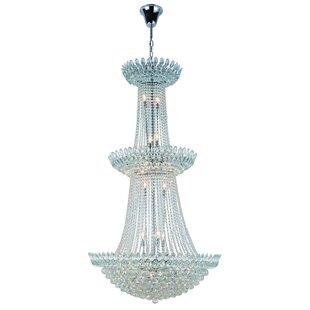 Rosdorf Park Glendora 27-Light Chandelier