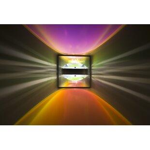 Optos 1-Light Outdoor Flush Mount by Besa..