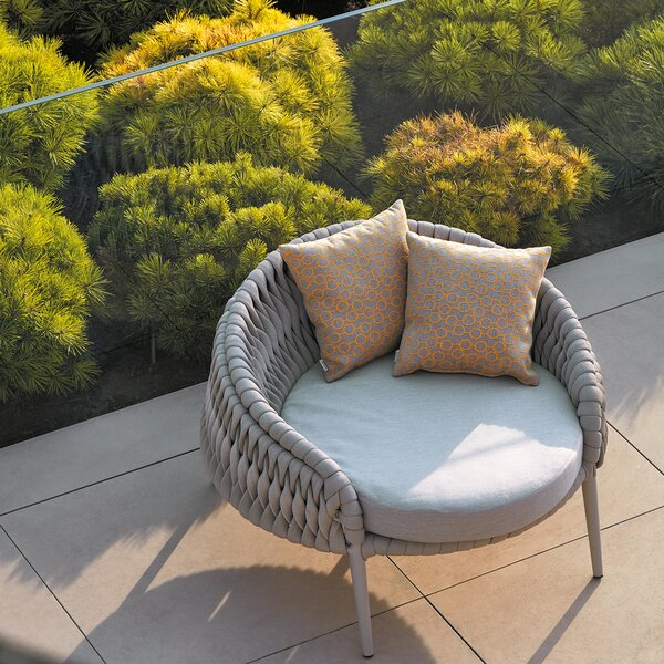 Round Outdoor Chair | Wayfair