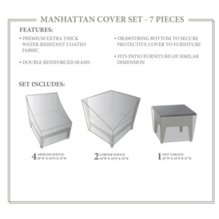 TK Classics Manhattan Winter 7 Piece Cove..