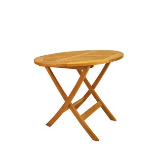 Windsor Folding Teak Bistro Table Best Deals
