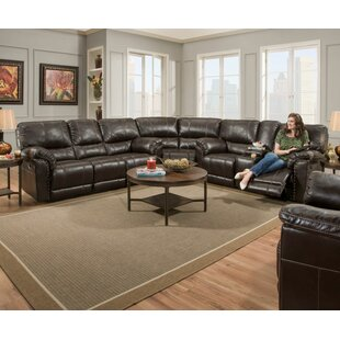 Fisher Reversible Reclining Sectional by Alcott Hill Today Sale Only