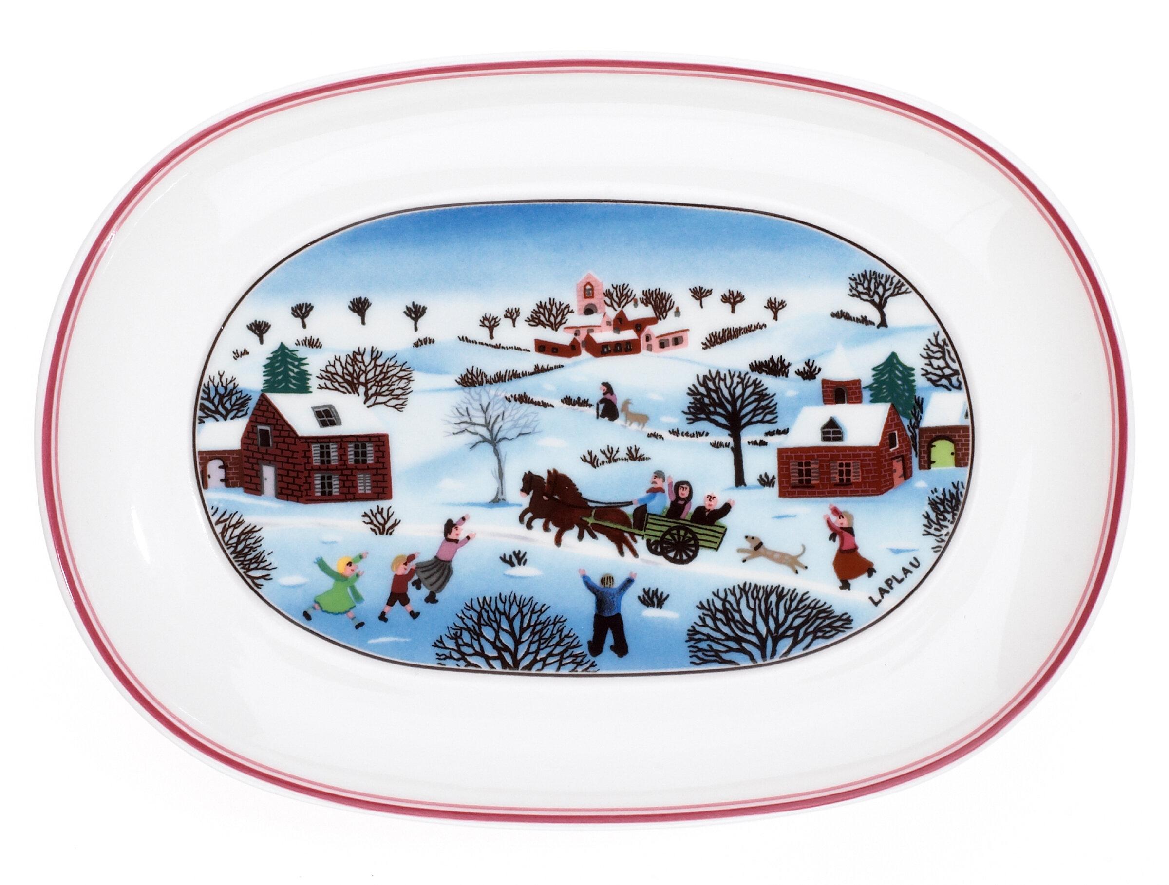 Villeroy Boch Naif Christmas Butter Dish Reviews Wayfair