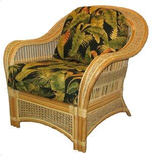 Armchair by Spice Islands Wicker