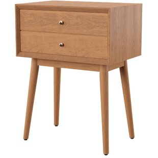 Mott Street 2 Drawer Nightstand by Mercury Row