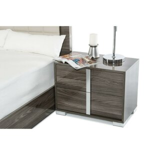 Shopping for Chitwood Wooden 2 Drawer Nightstand by Orren Ellis