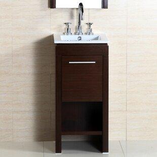 Read Reviews 16 Single Sink Vanity Set ByBellaterra Home