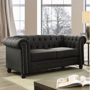 Darby Home Co Joice Chesterfield Loveseat