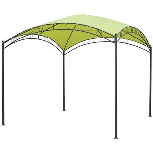 Hartl 10 Ft. W x 10 Ft. D Steel Pop-Up Canopy by Symple Stuff