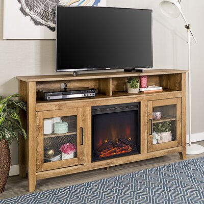 Find The Perfect 60 69 Inch Brown Tv Stand Fireplaces