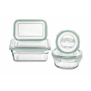 4 Container Food Storage Set