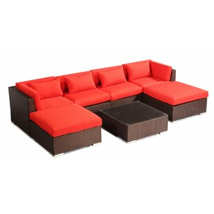 Napali 7 Piece Sectional Set with Cushions