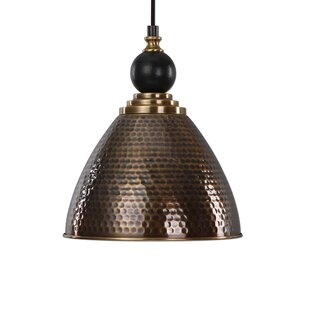 Affordable Lahjar 1-Light Cone Pendant By World Menagerie