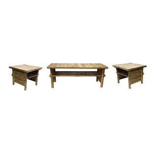 Bay Isle Home Danny 3 Piece Coffee Table Set