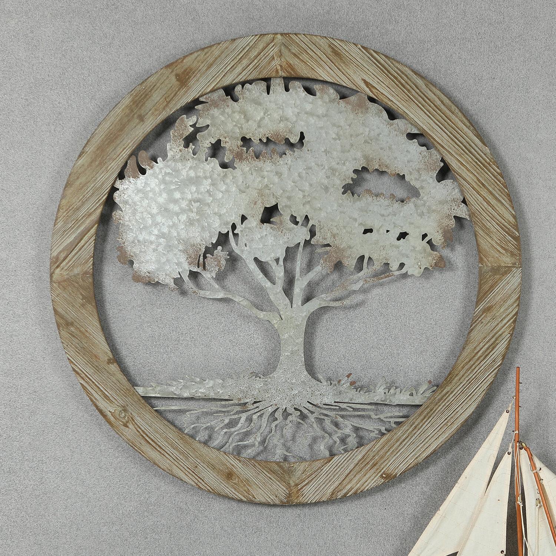 Winston Porter Circular Tree Wall Décor