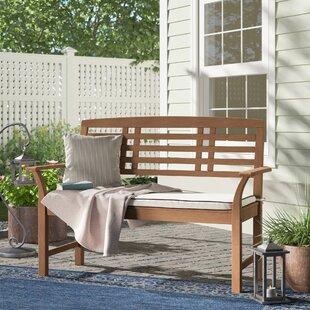 Calila Teak Garden Bench