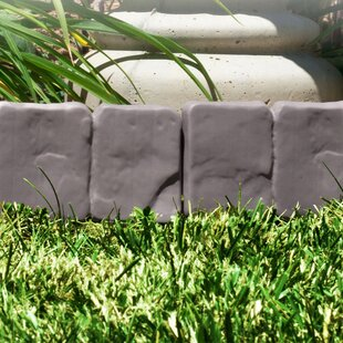 Beau W Cobblestone Garden Edging (Set Of 10)